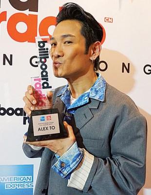 杜德伟获美国告示牌奖项。