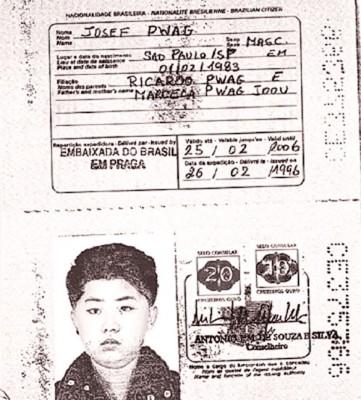 金正恩利用巴西借护照来申请西方国家的签证。