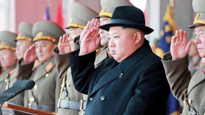 金正恩于2011年接过政权后就无去了朝鲜。