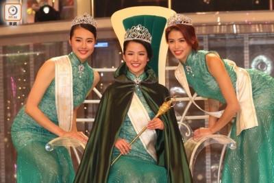 冠军为来自纽约的李思佳(中),亚军为刘思延(左),季军为雷庄儿。