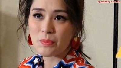 """杨受成受访时不经意脱口说出一句:""""阿娇很难嫁!""""连阿娇听完都露出尴尬的表情。"""