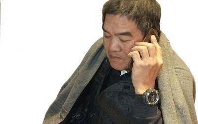 统帅饭店受困男员工陈明辉平安获救。