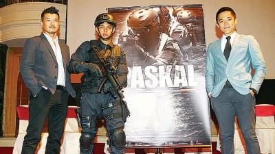 """徐添作、许亮宇、郑建国想《PASKAL》上映后会给大马人民认识以及了解365上维护大马海域的最前线""""国英雄""""。"""