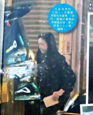 报道说朱丽倩去年因为照顾拍戏受伤的老公,还要兼顾女儿和公婆而心力交瘁。