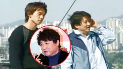 李英河(右)曾在《尚道上学去》饰演Rain的叔叔。