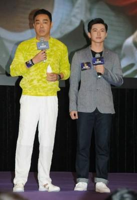 刘青云拒绝重演当年抱起原岛大地经典画面。