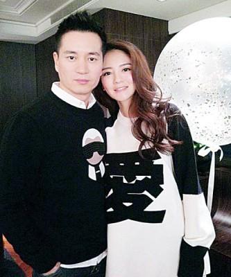 安以轩同先生陈荣炼婚后大接近。