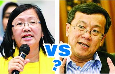 柔公正党致力争取玛利亚陈南下柔州上阵地不佬国席,对阵何国忠。