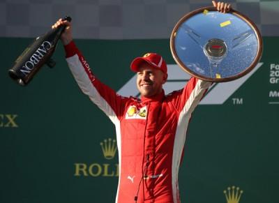 法拉利车队名将维泰尔以F1澳洲站夺冠,获赛季开门红。