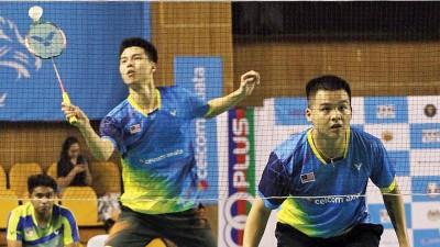 王耀新(左)和张御宇要力争汤杯资格。