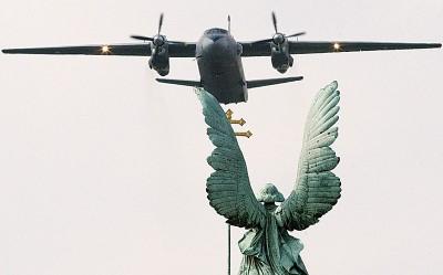 每当叙利亚坠毁的同型An-26运输机。(法新社照片)