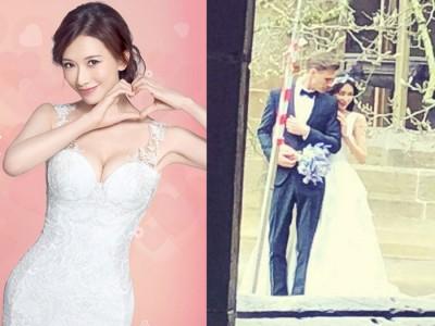 林志玲日前传出密婚后,赴欧洲拍摄婚纱(右图)。