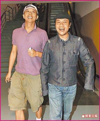 蔡康永(右)与George相识相恋21年,被李敖拱出柜。