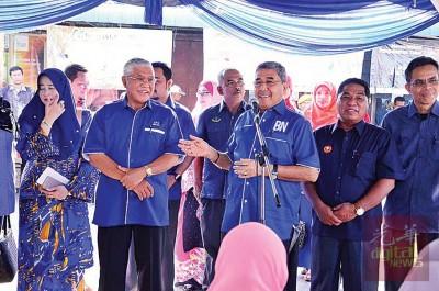 大臣暗示阿都拉欣(左)及阿里雅也(右)都有机会在大选上阵。