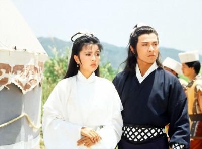 陈玉莲和刘德华因《神雕侠侣》成为最佳荧幕情侣。