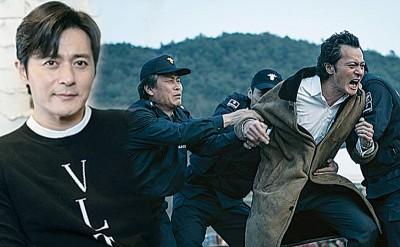 """张东健也新片《七年的夜》剃出""""M列秃"""",连透露上打前须为刮胡刀剃两只尖端。"""