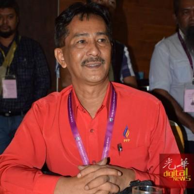 槟州前进党准候选人旺峇基斯。