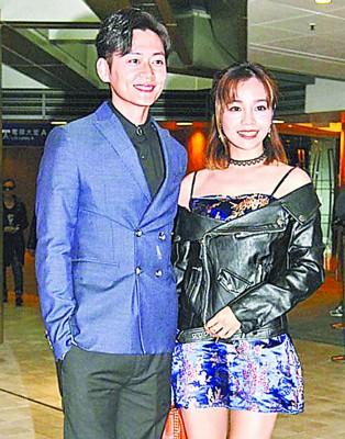 张振朗2月底被影到与陈芷尤一起齐入马场。