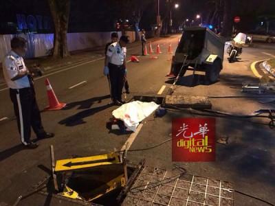 肇事华裔司机已遭逮捕。