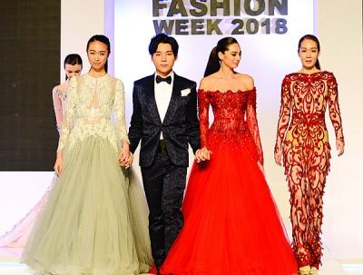 来自香港的服装设计师姚子裕,在亚洲知名度甚高,不仅与胡杏儿合伙开设婚纱店,更曾为Jessie J(《我是歌手》赛服)、范冰冰、林志玲、郑秀文等著名女星设计晚装。