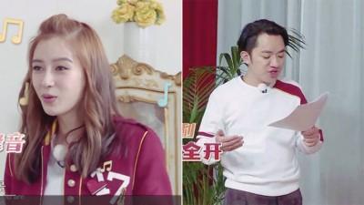 (左)Baby讴歌英文歌。(右)王祖蓝见超强英文能力,给网友惊艳。
