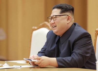 金正恩将于下周及韩国总统文在寅会晤。(法新社照片)