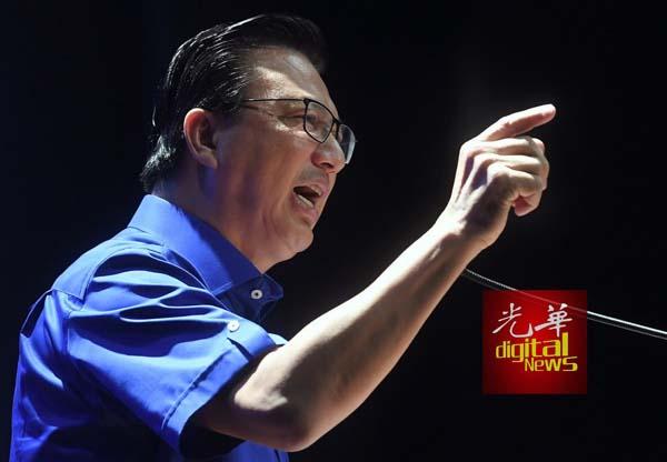 廖中莱:若蔡文祥执意以独立人士身份上阵 ,马华可对他采取纪律行动。