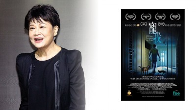 罗冠兰的演技精湛,在新电影《宠我》中八度封后。