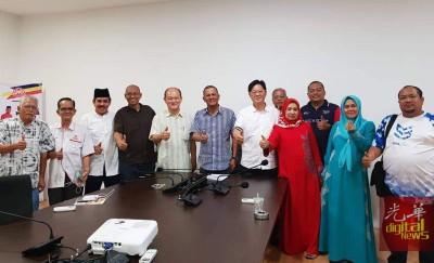 沙菲益提名前夕主动联系姚长禄,商讨竞选事宜。