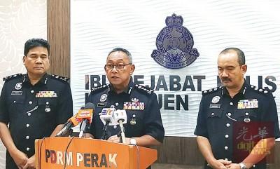 马兹南(中):警方周六在吉隆坡与布城的12个国席提名中心值勤,避免不愉快事件发生。