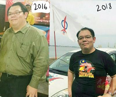 李俊杰努力减肥,不介意当候补候选人。