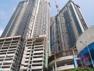 目前白云山兴建中公寓工地的6楼及7楼仍在封锁。