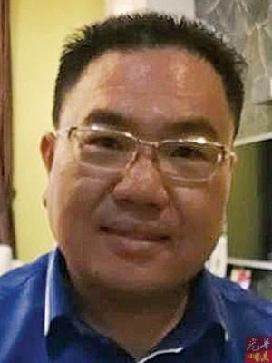 马华槟州组织秘书兼国阵及马华峇眼区会秘书陈诠峰。