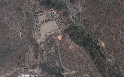 朝鲜曾在丰溪里核试场进行反复对。