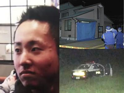 干杀害上司的19夏警员大旗智博(左)星期四黎明一度落网。