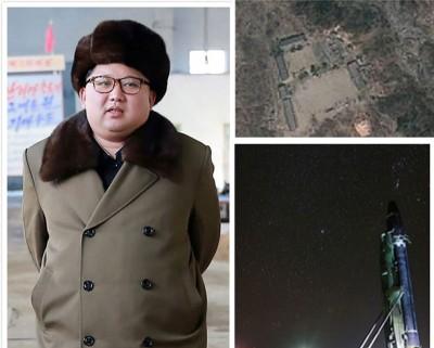 金正恩宣布,暂停一切对及洲际弹道导弹测试,连关闭丰溪里核试场。(法新社照片)