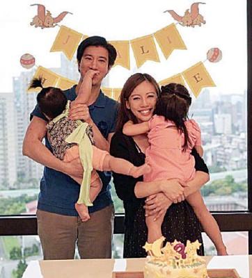 王力宏及夫人李靓蕾已有2单女,先后3胎是儿子。