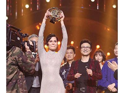 Jessie J异常欢自己之大力没有白费,对此当晚夺冠她直言有些出乎意料。