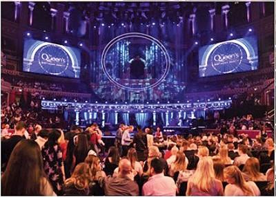 王家阿尔伯特音乐厅音乐会。