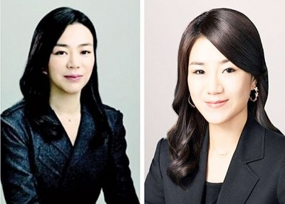 赵显娥(左图)同赵显旼(右图)先后卷入丑闻。