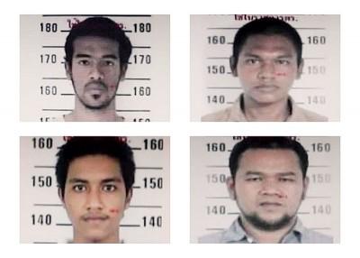 警方发布部分逃犯照片。