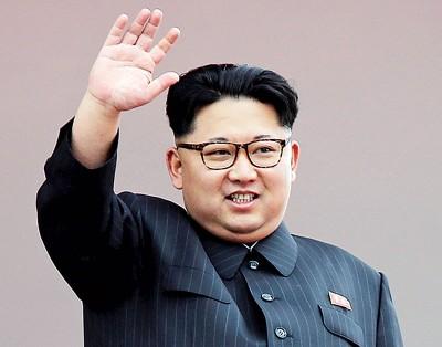 """金正恩表示,而韩美""""分阶段同步采取和平方式"""",纵使有可能解决朝鲜半岛非核化议题。"""