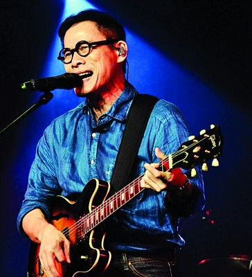 罗大佑当本届金曲以《加之观音山》入围年度歌曲。