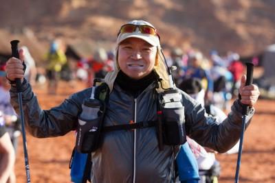 中国探险家金飞豹。