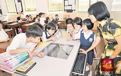 对于电脑班能否列入正课时间,州内华小静观其变。
