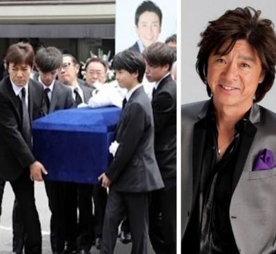 日本知名歌手西城秀树今天出殡。