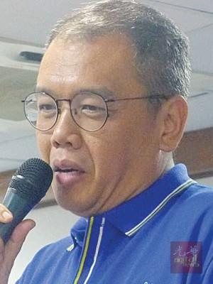 马华候选人姚炜豪表示要强有力的州政府与中央政府。