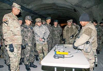 青瓦台官员指,相信仍需要美军驻守朝鲜半岛。