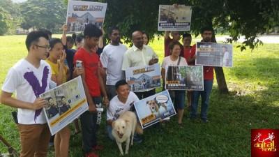 多名来自保护动物协会人士纷纷表示支持卢界燊,希望他能把流浪猫狗课题带入州议会。