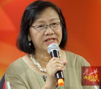 玛丽亚陈:保障人民言论自由。